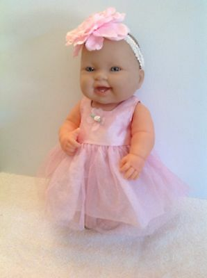 Berenguer Baby Doll Very Realistic 35cm Tall Silver Eyes VGC