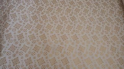 3x new Dolls House cream/gold  wallpaper 510mm x 740mm 1.12th scale lot 1