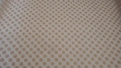 5x new Dolls House cream/gold motive wallpaper 510mm x 740mm 1.12th scale