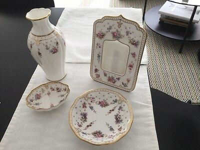 Royal Crown Derby, Royal Antionette, 4 pieces