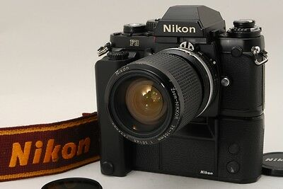 【 Exc+++++ 】 Nikon F3 MD-4 Zoom NIKKOR 35-105mm f/3.5-4.5 Ai-s From Japan 121