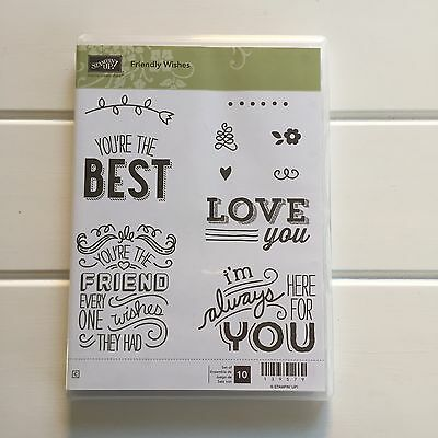 Stampin Up Friendly Wishes Stamp Set