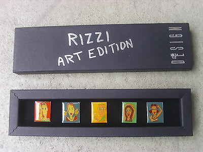 James Rizzi. RIZZI ART EDITION. Pin. Anstecker. Signiert. Limited Edition!