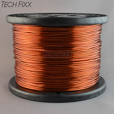 Magnet Wire 14 Gauge Enameled Copper 770 Feet Coil Winding 9.74 Lbs Essex 200C