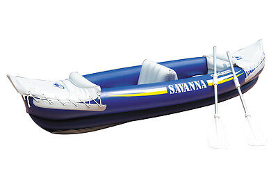 Aqua Marina Savanna Inflatable 2 Seats Kayak With Paddle & Pump
