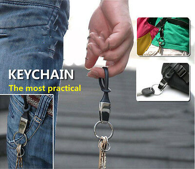 Metal  NEW Mens Womens Creative Gift Car Keyring Keychain Key Chain Ring Persona