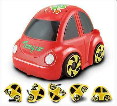 1PC Plastic Wind-up Clockwork Racing Car Toy for Children WD
