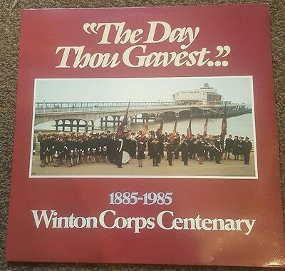 Salvation Army  Winton Corps (Bournemouth) Centenary 1885-1985 Vinyl Lp L@@k