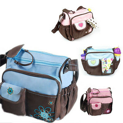 New Baby Diaper Nappy Changing Bag Mommy Mummy Tote Handbag Shoulder Bag