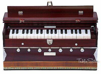 HARMONIUM No.5200m/MAHARAJA/3¼ OCTAVE/MULTI-BELLOW/7 STOP/COUPLER/PIANO/DB-2