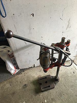 Vintage Sher Drill And Press