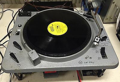 EMT 930 st turntable with TSD15 cardridge + a spare 930 st + a lot with parts