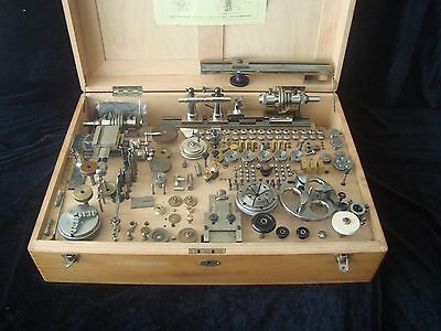 Watchmakers lathe Boley & Leinen 8mm