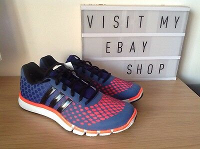 Bnwb Adidas Adipure 360.2 Primo Gym Running Trainers / Sneakers Size UK 8.5