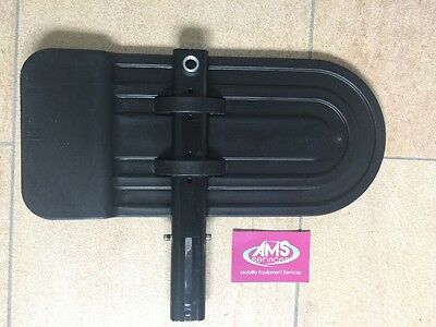 Invacare Action NG, Rea Azalea Wheelchair Right Armrest Side Panel / Mudguard
