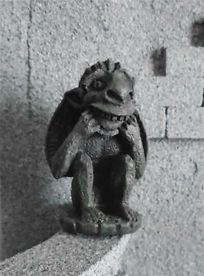 miniature GARGOYLE dolls house MEDIEVAL tudor new #D