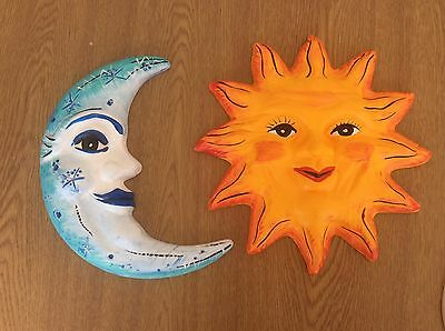 Paint Your Own Patio Sun & Moon plaques