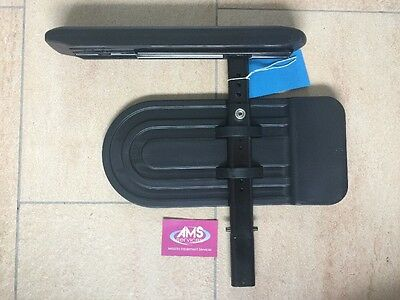 Invacare Action NG Wheelchair Complete Left Armrest Side Panel / Mudguard Armpad