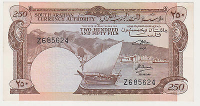 YEMEN - South Arabia- 250 fils 1965 XF- prefix Z    P.1b