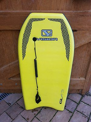 Yellow Vision GL42 Bodyboard with Cover