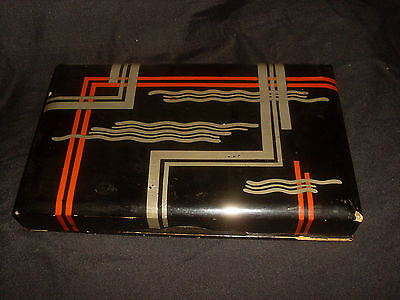 Vintage-Antique Japanese Lacquered Tray Box