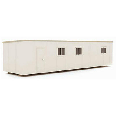 2 Portable Accommodation(8 x Ensuite Bedrooms), Portable Building,14.5×3.3M