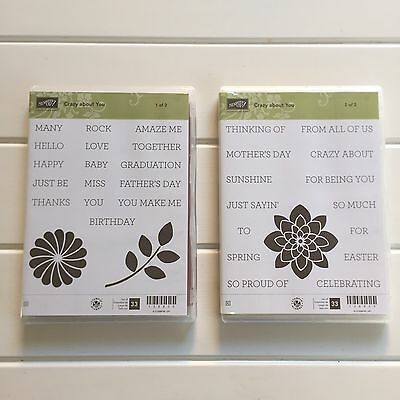 Stampin Up Crazy About You Stamp Sets