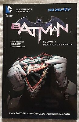 Batman Volume Three: Death Of The Family