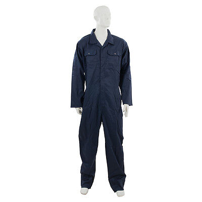 "Silverline 598537 Boilersuit Navy XXL 132cm (52"")"