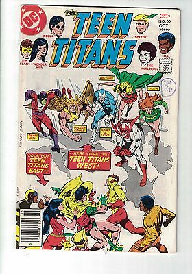 DC COMIC Teen Titans no 50 Oct 1977 35c