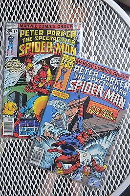 Peter Parker:The Spectacular Spider-man(1st Series) #17&18, 2 part story.1978