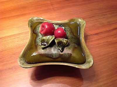 Vintage California USA Pottery covered dish