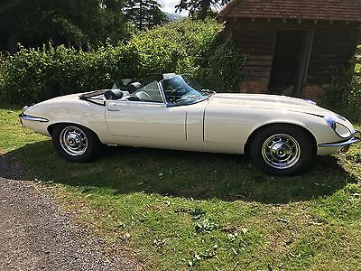 Jaguar E Type Roadster 1972 Classic Low mileage full history