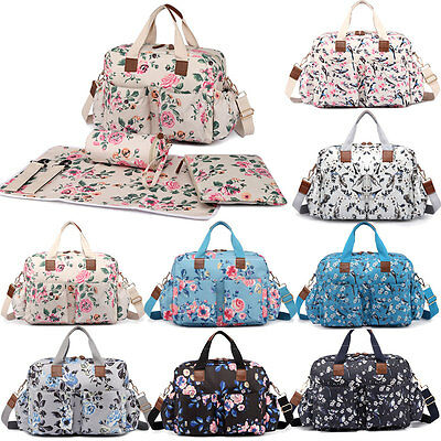 Mummy Changing Bag Maternity Handbag Shoulder Nappy Diaper Wipe Clean Pre-Sale