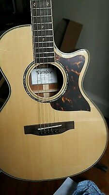 Tanger All Solid Electro Acoustic Guitar TG 26CE