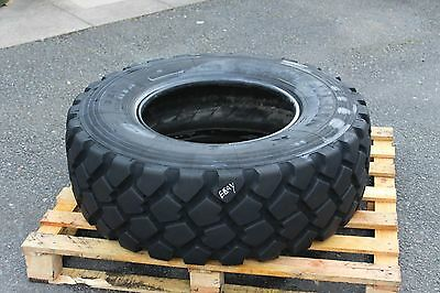 X1 Michelin 335/80R20 Xzl Tyre Slightly Perished 50% Tread Remaining Unimog