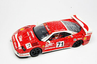 "Fly Racing. Slot Car 1/32. Ferrari F40 ""Coca Cola""."