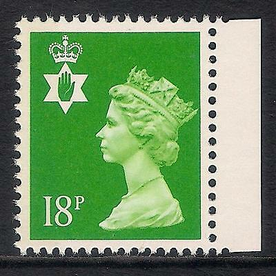 Northern Ireland 1993 NI48 18p litho left side band booklet stamp MNH