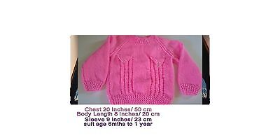 Hand Knitted Kids Jumpers