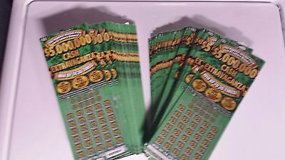 $6,000 in $30 NJ Lottery Scratch Off Tickets Non-Winning New Jersey #01339  MDR
