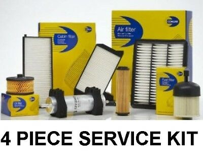 For Vauxhall Opel Insignia 2.0 Cdti 08-16 Air Oil Fuel Cabin Filter Service Kit