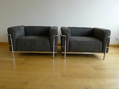 Sofas And Armchairs LC2 And LC3 By Le Corbusier