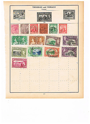 Trinidad  And Tobago Stamp Collection