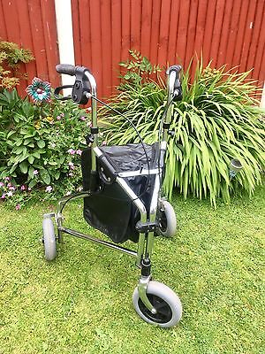 3 Wheel Mobility Walker With New Bag Foldable