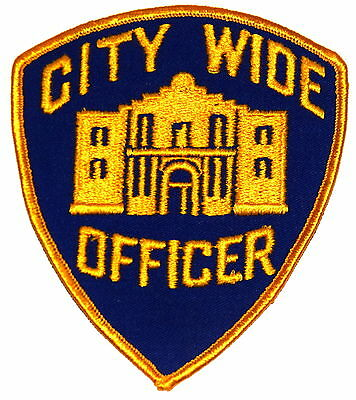 SAN ANTONIO - CITY WIDE OFFICER- TEXAS TX Police Sheriff Patch ALAMO VINTAGE OLD
