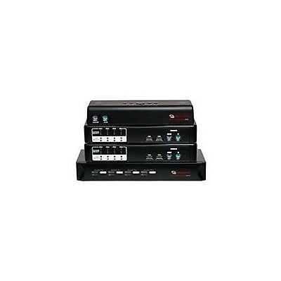 Avocent SwitchView 100 Series 2-Port USB Desktop KVM Switch with Audio Cable ...