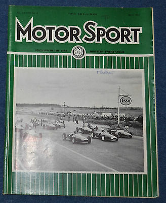 Motor Sport April 1962 Wolseley 6/110, MG Magnette Mk IV, Fiat Abarth 850 TC