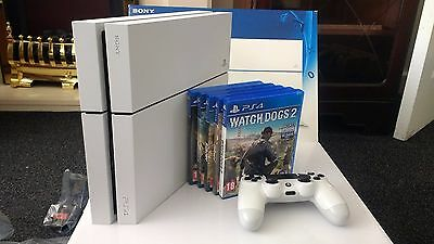 Sony PlayStation 4 500MB Glacier White Console