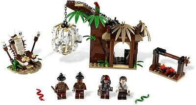 Lego Pirates of the Caribbean – 4182 THE CANNIBAL ESCAPE  VGC