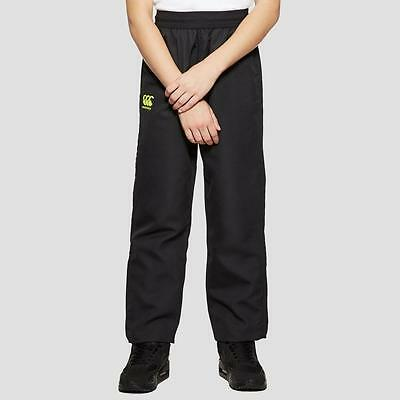 Canterbury Vaposhield Woven Junior Rugby Training Pants Black